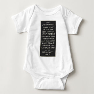 Southern Sayings Baby Bodysuit