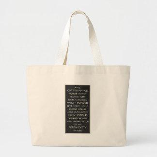 Southern Sayings Large Tote Bag