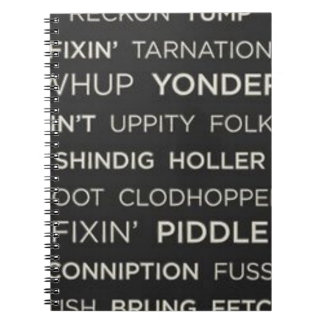 Southern Sayings Notebook