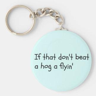 Southern Sayin's Key Ring