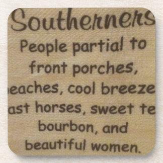 Southern slang coaster
