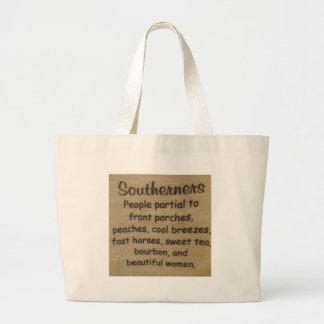 Southern slang large tote bag