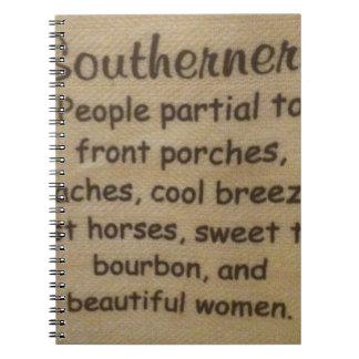 Southern slang notebook