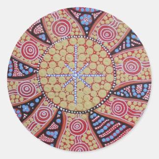Southern Star Round Sticker