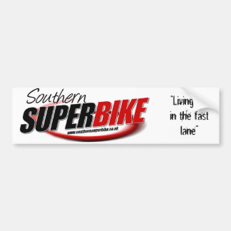 Southern Superbike Sticker Bumper Sticker