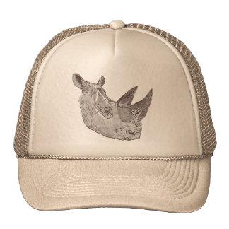 Southern White Rhinoceros Hat