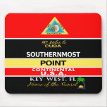 Southernmost Point Buoy Key West Mouse Mat