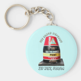 Southernmost Point Key Ring