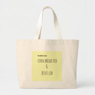 southernsayings large tote bag