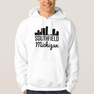 Southfield Michigan Skyline Hoodie