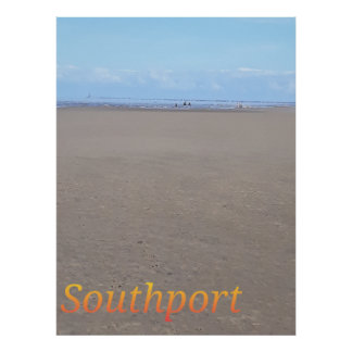 Southport Beach Poster