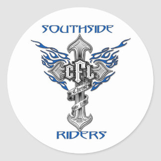 Southside Riders Helmet Sticker