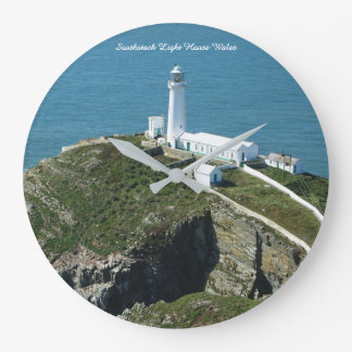 Southstack Light House Wales. Large Clock