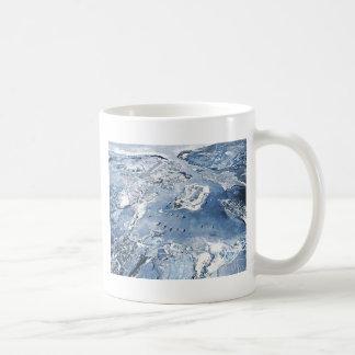 Southward Overhead View Pearl Harbor Coffee Mug