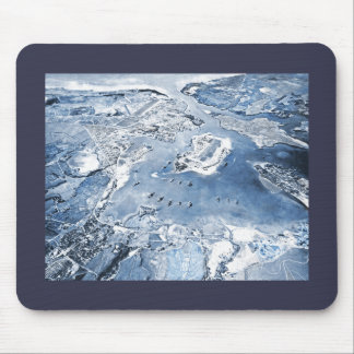 Southward Overhead View Pearl Harbor Mouse Pad