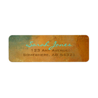 Southwest Adobe Clay Stone Return Address Labels