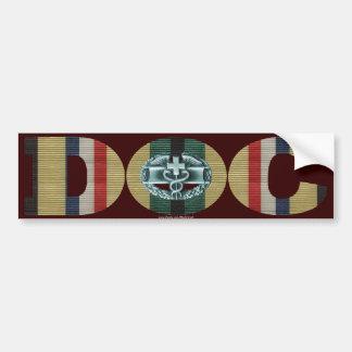 Southwest Asia Ribbon Doc - CMB Car Bumper Sticker