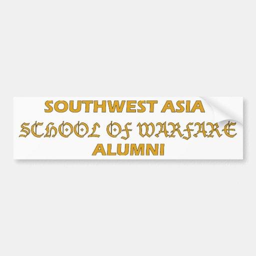 Southwest Asia School of Warfare Alumni Bumper Sticker