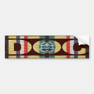 Southwest Asia Service Ribbon Doc - CMB Car Bumper Sticker
