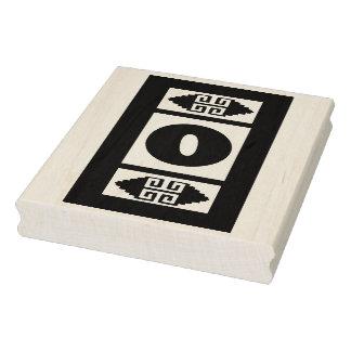 Southwest Aztec Number 0 Large Design Stamp Tool