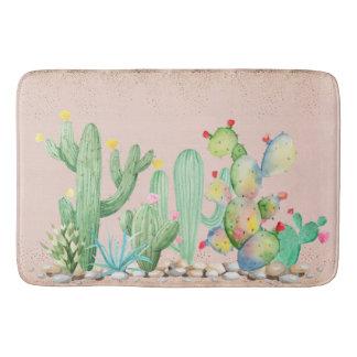 Southwest Cactus Bath Mat