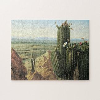 Southwest Cactus Jigsaw Puzzle