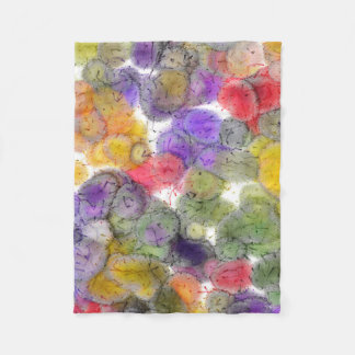 SOUTHWEST: CALIFORNIA DESERT ABSTRACT FLEECE BLANKET