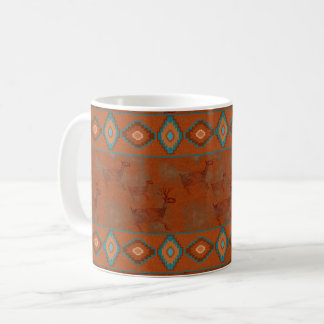 Southwest Deer Petroglyphs Coffee Mug