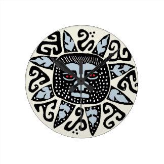 Southwest Del Sol Wall Clock - Tribal Decor Clock