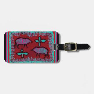 Southwest Desert Animals Luggage Tag