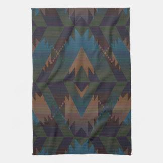 Southwest Design Aztec Print Tea Towel