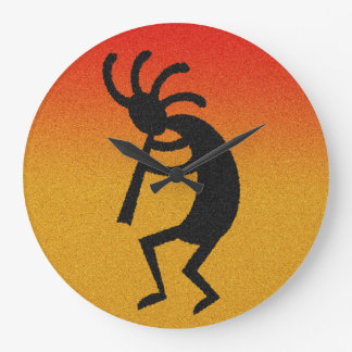 Southwest Design Kokopelli Large Clock