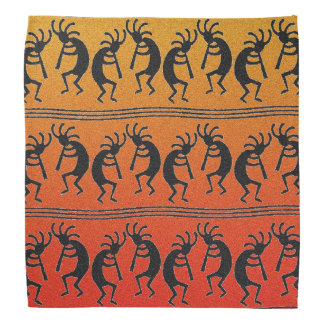 Southwest Design Kokopelli Sunset Bandanna