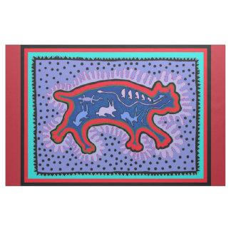 Southwest Feral Cat Designer Fabric