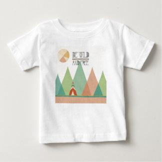 Southwest Geo II  Be Wild and Free Baby T-Shirt
