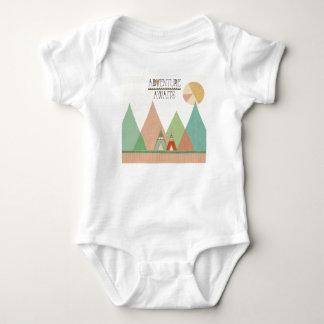 Southwest Geo III   Adventure Awaits Baby Bodysuit