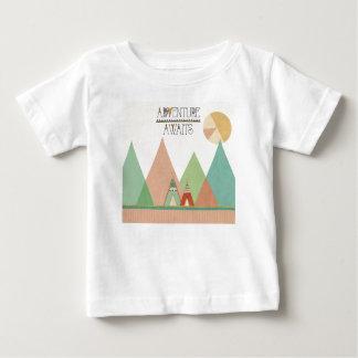 Southwest Geo III   Adventure Awaits Baby T-Shirt