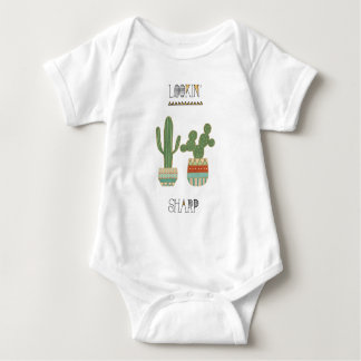 Southwest Geo IX   Lookin' Sharp Baby Bodysuit