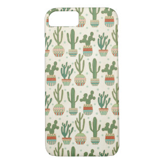 Southwest Geo Step | Cactus Pattern iPhone 8/7 Case