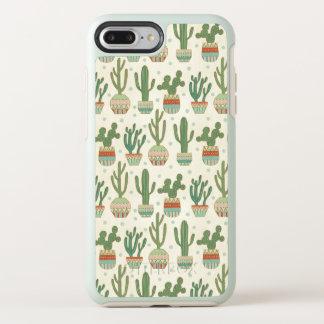 Southwest Geo Step   Cactus Pattern OtterBox Symmetry iPhone 8 Plus/7 Plus Case