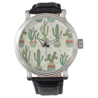 Southwest Geo Step | Cactus Pattern Watch