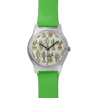Southwest Geo Step | Cactus Pattern Watch