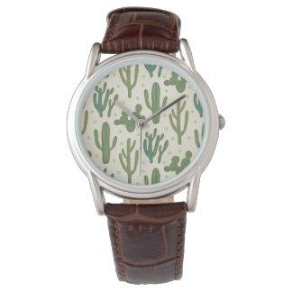 Southwest Geo Step | Desert Cactus Pattern Watch