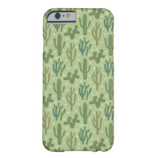 Southwest Geo Step | Green Cactus Pattern Barely There iPhone 6 Case