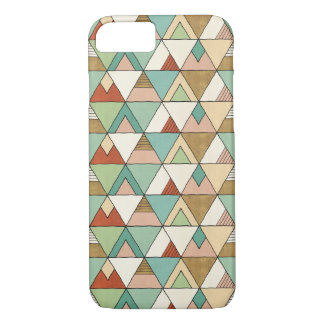 Southwest Geo Step | Hand Drawn Tribal Pattern iPhone 8/7 Case
