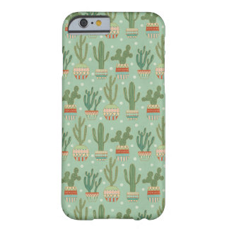 Southwest Geo Step | Potted Cactus Pattern Barely There iPhone 6 Case