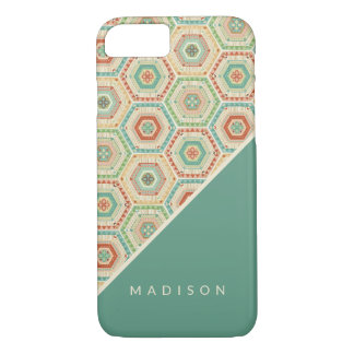 Southwest Geo Step | Southwest Hexagon Pattern iPhone 8/7 Case