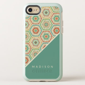 Southwest Geo Step | Southwest Hexagon Pattern OtterBox Symmetry iPhone 8/7 Case