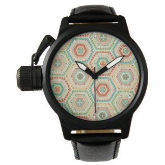 Southwest Geo Step | Southwest Hexagon Pattern Watch