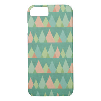 Southwest Geo Step | Teal Triangle Pattern iPhone 8/7 Case